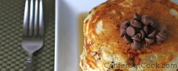 Fast and Easy Chocolate Chip Pancakes