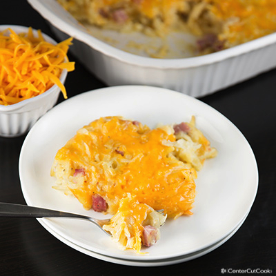 Hash Brown Casserole {Without Cream Soup}