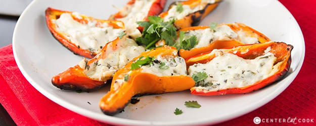 Grilled Stuffed Mini Bell Peppers