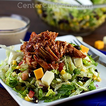 Southwestern bbq chicken salad 2