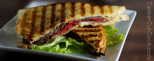 Havarti and Roast Beef Panini