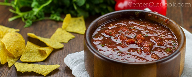 Classic Salsa with Roasted Corn
