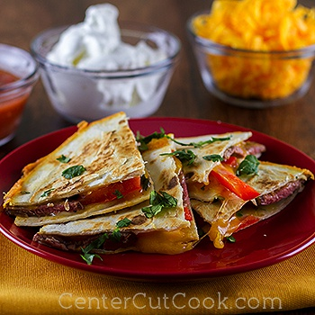 Steak quesadilla 2