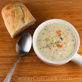 Cream of chicken and rice soup 2