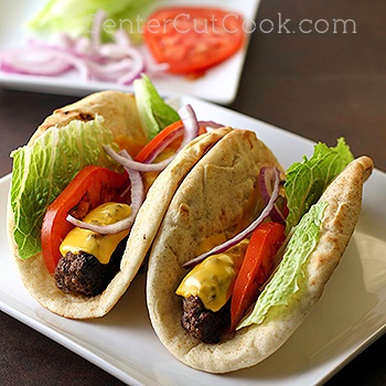 Cheeseburger flatbreads 2