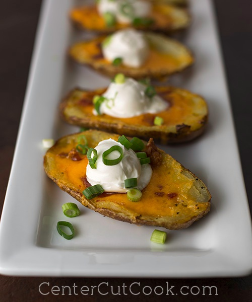 Loaded Potato Skins 6