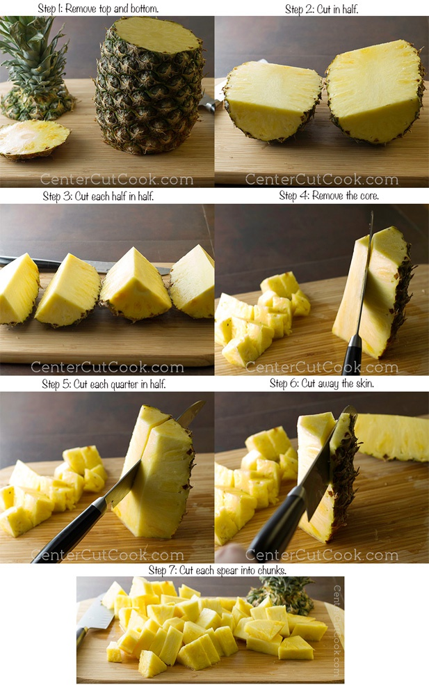 How to cut a pineapple 12