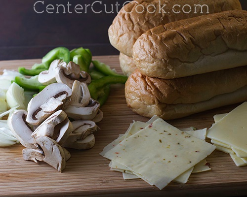 Philly cheesesteak sandwiches 4