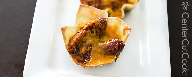 Cheesy Little Smokie Cups