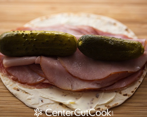 Ham and pickle rollups 4
