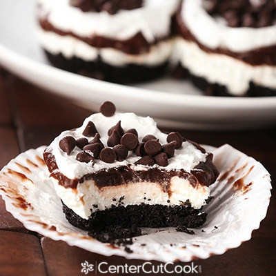 Chocolate lasagna cupcake 2