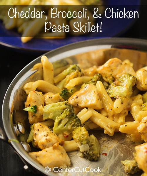 Cheddar Broccoli and Chicken Skillet 4