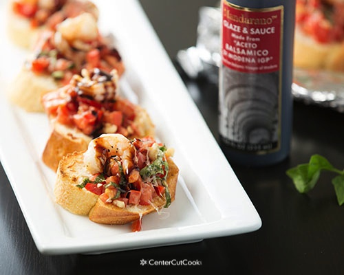 Shrimp bruschetta 9
