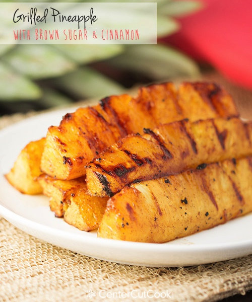 Grilled pineapple 4