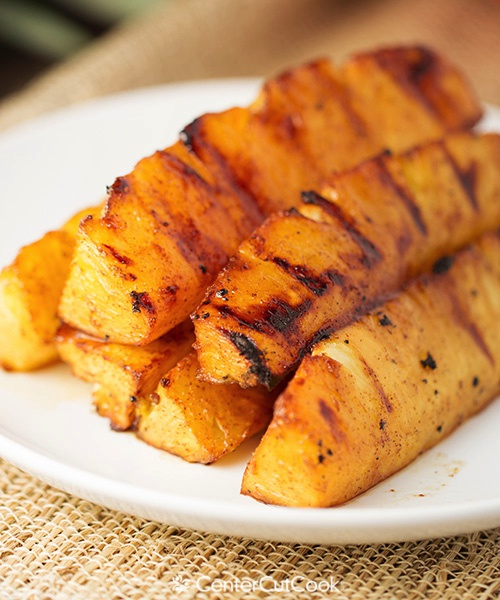 Grilled pineapple 5