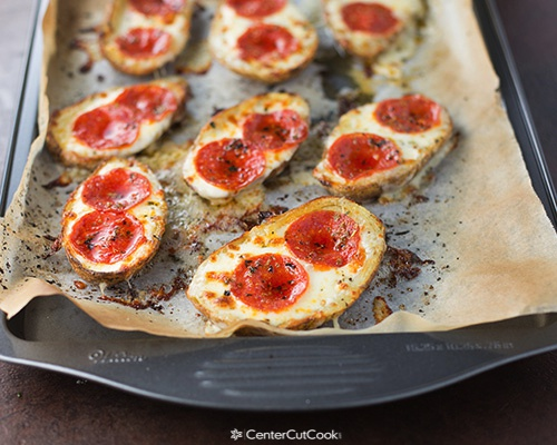 Pizza potato skins 3