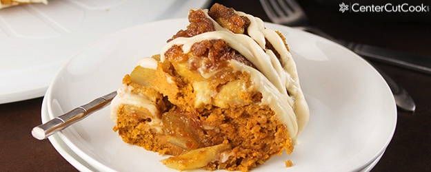 Pumpkin Apple Spice Cake