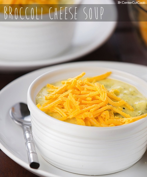 Broccoli cheese soup 4