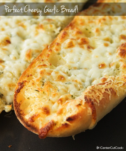 Perfect Cheesy Garlic Bread Recipe
