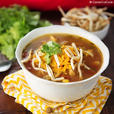 Chicken tortilla soup 2