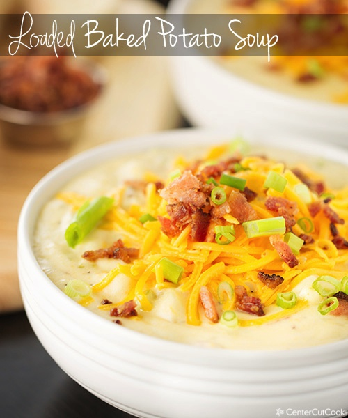 Loaded baked potato soup 5