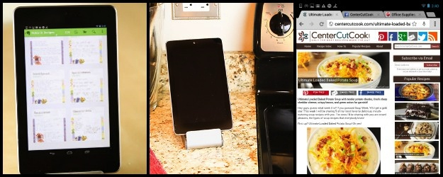 Organize Your Recipes with a Nexus 7 Tablet {Giveaway}!