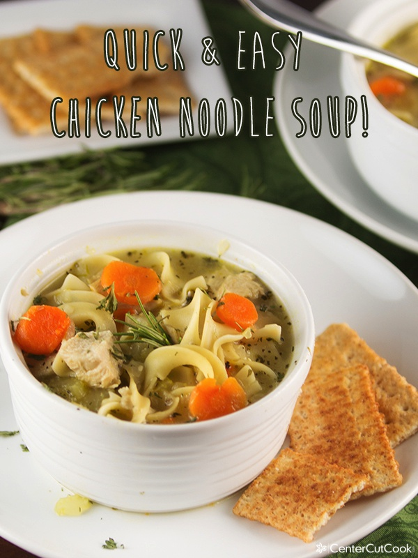 Chicken noodle soup 4