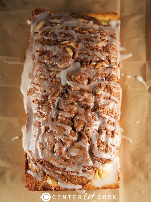 ... enjoy this quick and easy Cinnamon Roll Bread fresh out of the oven