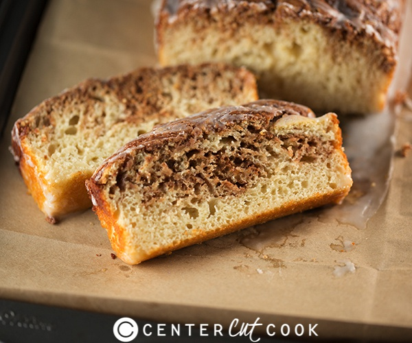 Cinnamon Bun Bread Recipe — Dishmaps