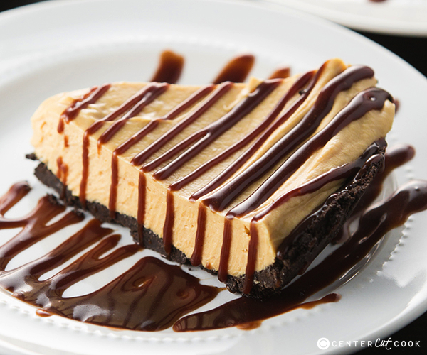 Peanut butter fudge pie 5
