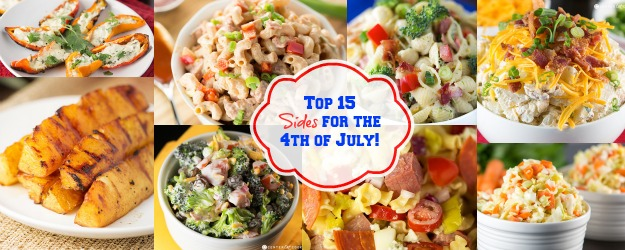 Top 15 Sides for the 4th of July!