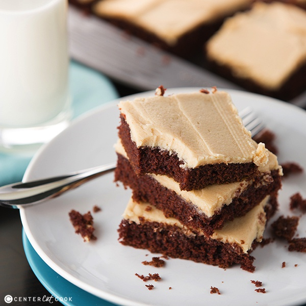 Chocolate Sheet Cake With Peanut Butter Frosting Recipe ...