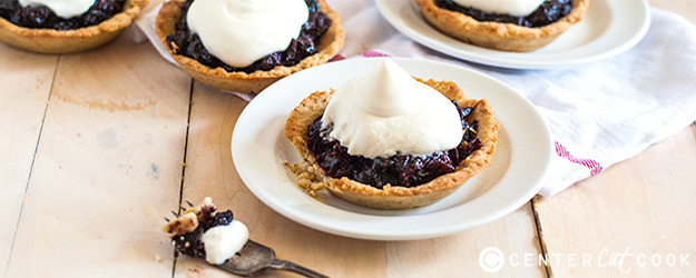 Chocolate Cherry Tarts