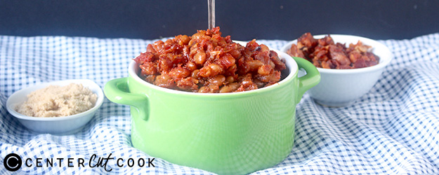 Sweet and Smokey Baked Beans