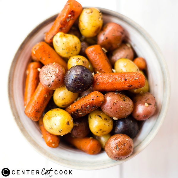 recipe: roasted potatoes and carrots with rosemary [14]