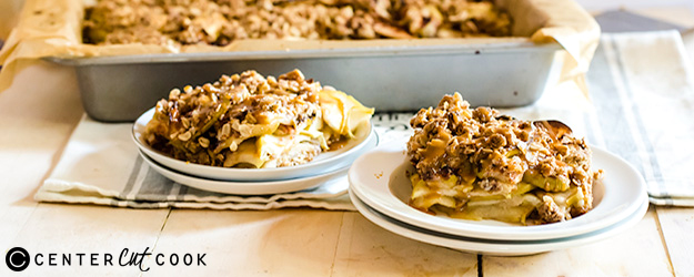 One-Bowl Apple Pie Streusel Bars