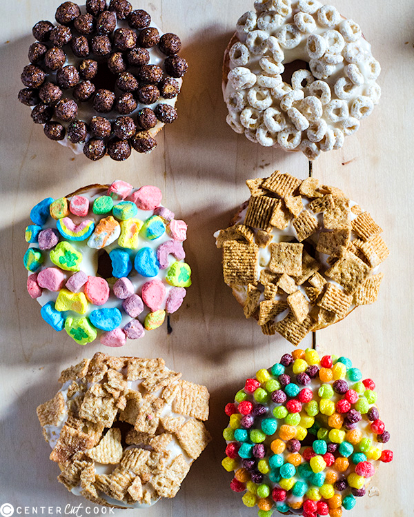 baked cereal milk donuts 2
