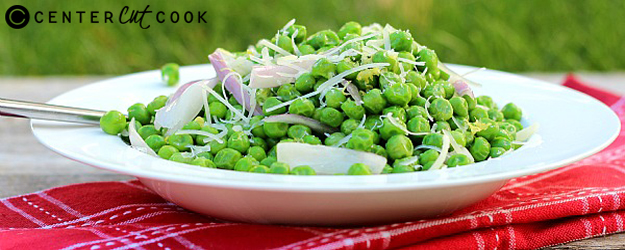 Parmesan Peas with Shallots and Lemon