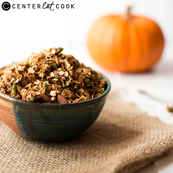 Pumpkin Spice Granola – Enjoy the best of Fall flavors in this easy ...