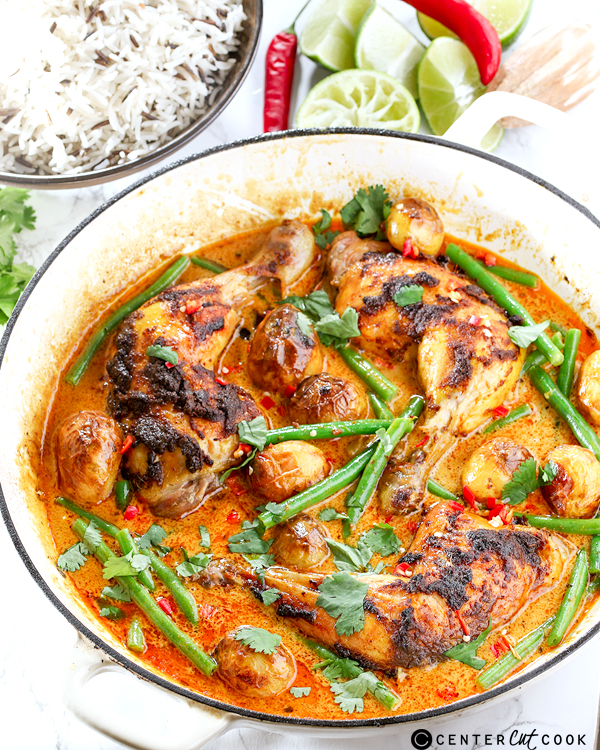 curry roasted chicken