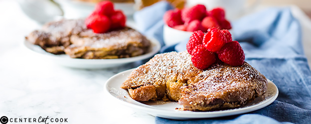Stuffed French Toast Croissants