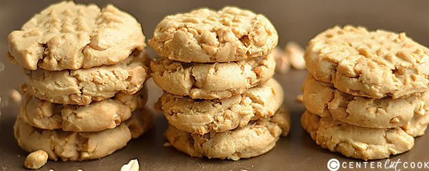 Soft and Chewy Classic Peanut Butter Cookies