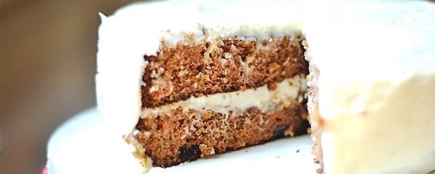 Carrot Cake with Lemon Cream Cheese Frosting