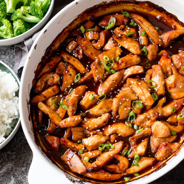 Recipes With Chicken Rice Broccoli: Baked Teriyaki Chicken Recipe