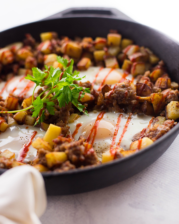 ... cowboy breakfast skillet is a big winner for all three of those things