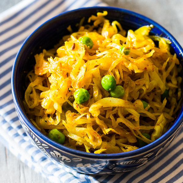 Indian Fried Cabbage R...