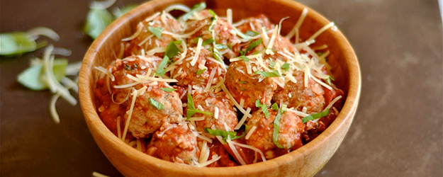 turkey parmesan meatballs 1