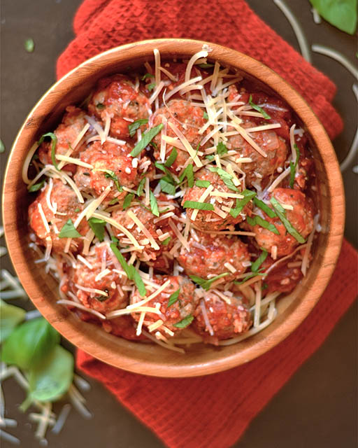 turkey parmesan meatballs 2
