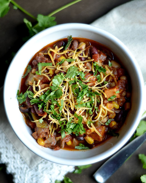 instant pot vegetarian chili 2