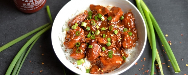 slow cooker general tsos chicken 1